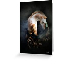 Appaloosa Horse and Native American Dream Catcher Greeting Card
