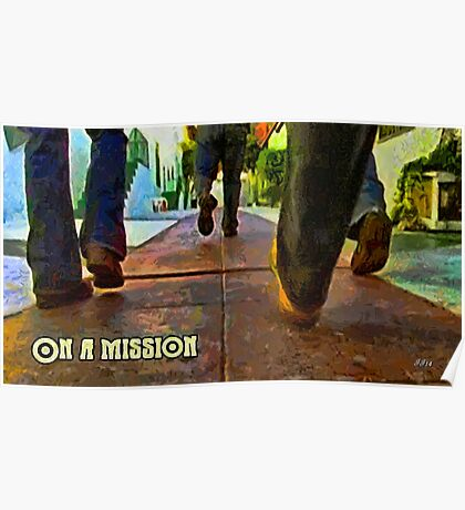 On a mission Poster