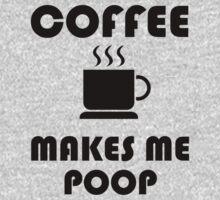 Coffee Makes Me Poop One Piece - Long Sleeve