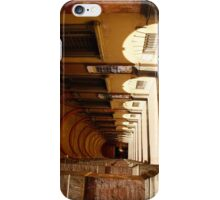 The porticos of the old city iPhone Case/Skin