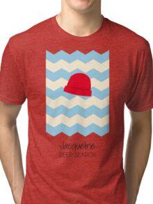 Jacqueline Deep Search, The Life Aquatic Tri-blend T-Shirt