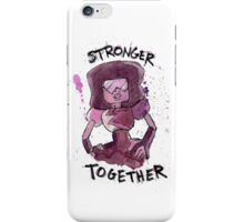Garnet - Stronger Together iPhone Case/Skin