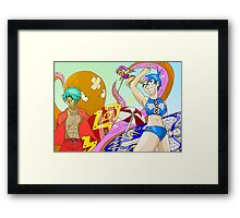 Raiden Legacy - Surf and Squid Framed Print
