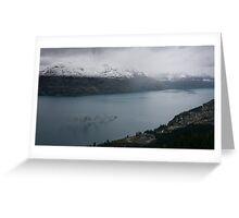 Earnslaw Steamship, Lake Wakatipu Greeting Card