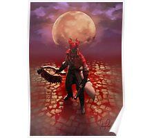 Blood Drenched Hunter Poster