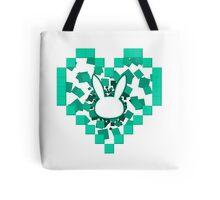 Love bunny dVa  Tote Bag