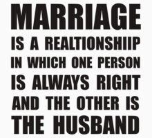 Marriage Husband One Piece - Short Sleeve