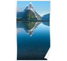 Mitre Peak, Fiordland Poster