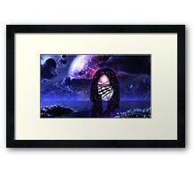 The Third Alien Eye Framed Print