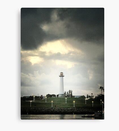 Lions Lighthouse Canvas Print