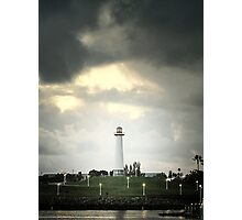 Lions Lighthouse Photographic Print