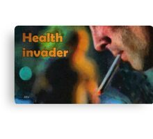 Health invader Canvas Print
