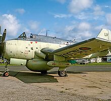 Fairey Gannet AEW.3 XL502 G-BMYP at Biggin Hill by Colin Smedley