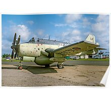 Fairey Gannet AEW.3 XL502 G-BMYP at Biggin Hill Poster