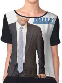 The Daily Show with Jon Stewart Chiffon Top