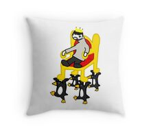 rass te pegin kig Throw Pillow