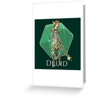 Dungeons and Dragons Druid Greeting Card