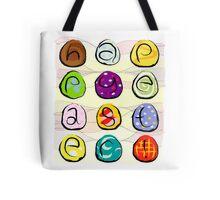 Easter eggs - happy easter Tote Bag