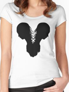 Separate  Women's Fitted Scoop T-Shirt