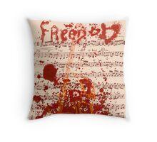 Cursed Artist Throw Pillow