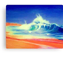 Putty Beach Canvas Print