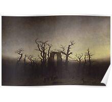 Spooky Landscape Poster