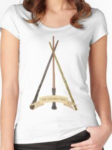 The Golden Trio Women's Fitted Scoop T-Shirt