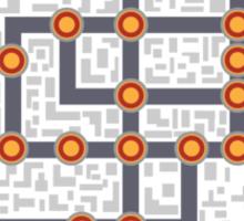 Subway map Sticker