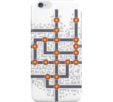 Subway map iPhone Case/Skin