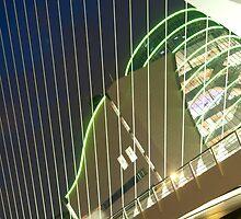 Samuel Beckett Bridge, Dublin by bridgendstudios