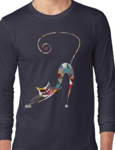 COLORFUL  CAT Long Sleeve T-Shirt