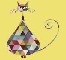 COLORFUL  CAT Kids Clothes