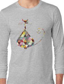 COLORFUL  CAT Long Sleeve T-Shirt