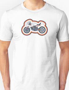 Vintage Cafe Racer Coloured T-Shirt