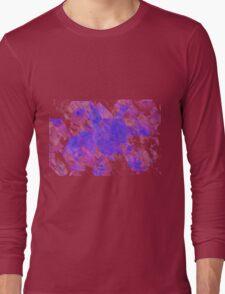 Math abstract spiral over vector Long Sleeve T-Shirt