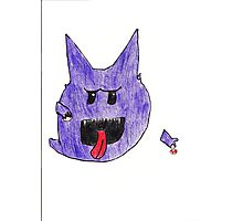 Boo and Haunter Photographic Print