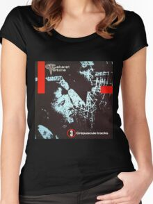 cabaret voltaire 3 crepuscule tracks Women's Fitted Scoop T-Shirt