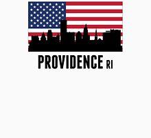 Providence RI American Flag Unisex T-Shirt