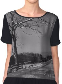 Beyond The Wooden Fence Chiffon Top