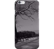 Beyond The Wooden Fence iPhone Case/Skin