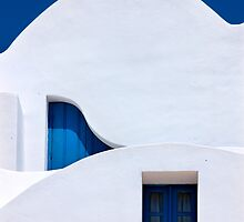 Different wavelengths - Santorini island by Hercules Milas