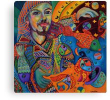 Colourful Pirate Canvas Print