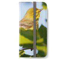 prairie warbler iPhone Wallet/Case/Skin