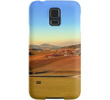 Picturesque panorama of countryside life | landscape photography Samsung Galaxy Case/Skin