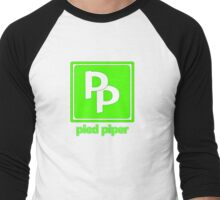 Pied Piper Men's Baseball ¾ T-Shirt