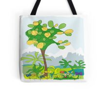 Simple line - jungle Tote Bag