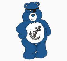 Pirate Bear One Piece - Short Sleeve
