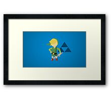 LINK - LEGEND OF ZELDA Framed Print