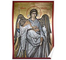 Archangel Michael - Eastern Orthodox icon Poster