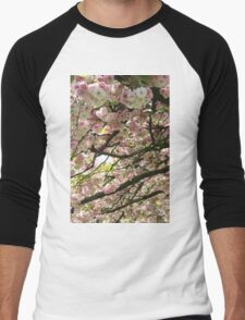 Blossoms Men's Baseball ¾ T-Shirt